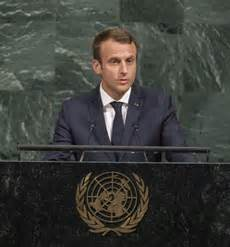 emmanuel macron united nations speech macron defends globalist approach at un general assembly