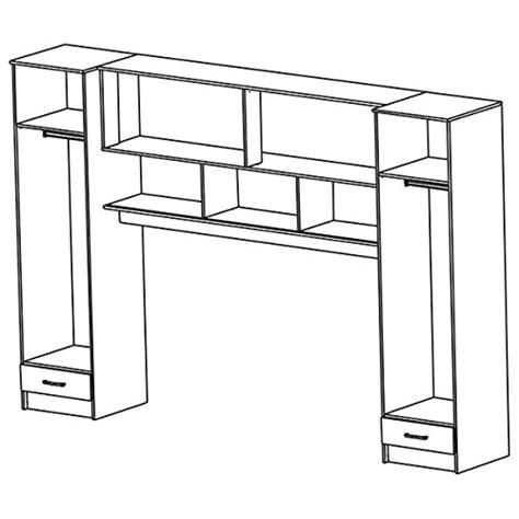 jugendzimmer schrank schrankbett akazie grau wei schwarz b 308 cm jugendbett