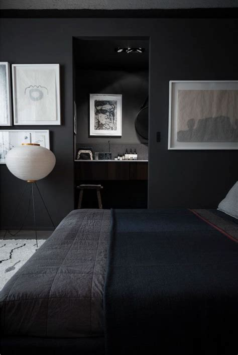 modern bedroom for men best 25 black interiors ideas on pinterest grey man