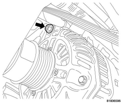 2007 Dodge Caliber Alternator Replacement Procedure Alternator 2007 Dodge Caliber Sxt
