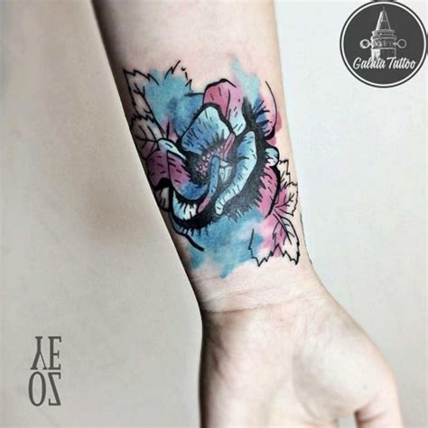52 elegant rose wrist tattoos