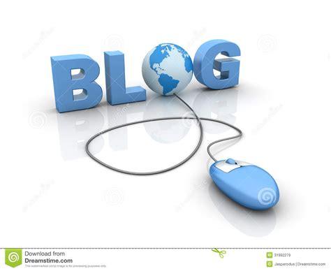 Desk Plans by Internet Blog Stock Illustration Image Of Attachment