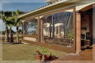 Residential Clear Vinyl Patio Enclosure Curtains By » Home Design