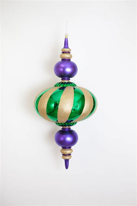 mgac303 33 quot jumbo mardi gras finial ornament the mardi
