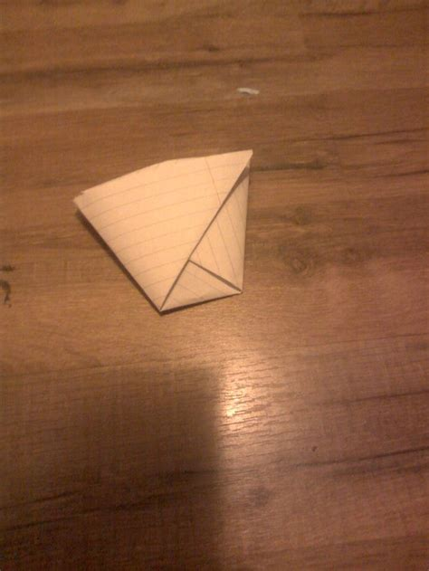 How To Fold A Sheet Of Paper Into A - how to fold a cup from a sheet of paper 5 steps with