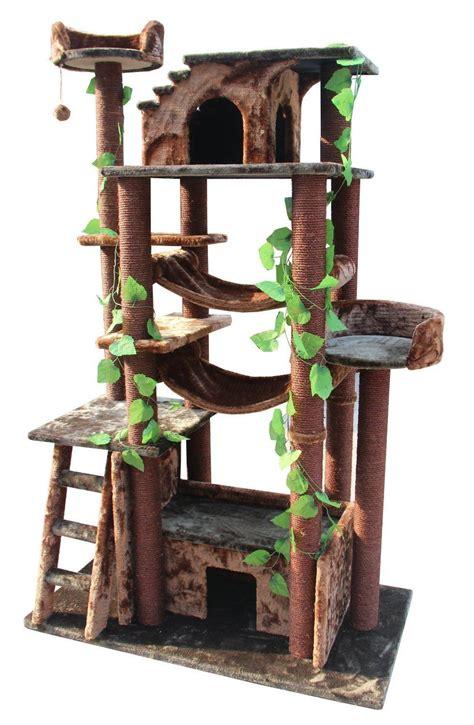 kitty mansions amazon cat tree