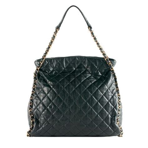 Chanel Quilt Bag by Chanel Quilted Lambskin Chain Around Large Hobo Handbag