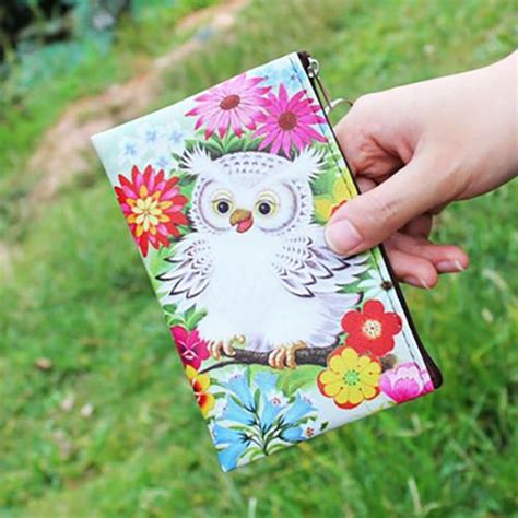 Animal Coin Pouch colorful owl coin pouch animal hug