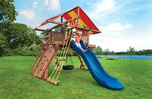 Children S Swing Set Swing Sets With Slides Tire Swing Pot O Gold