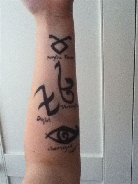 shadowhunters tattoo 21 best images about shadowhunter runes on