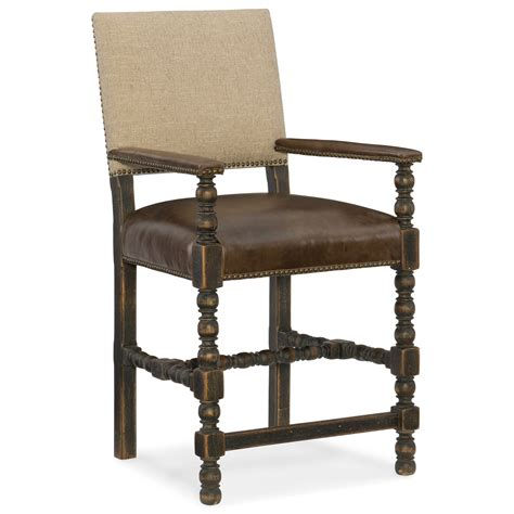 country comfort chairs hooker furniture hill country comfort counter stool with