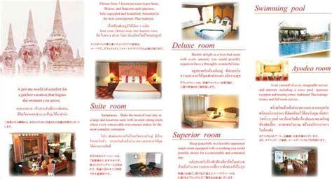 Pdf Hotel Restaurant And Travel Quizlet by Ayothaya Ayutthaya Hotel Brochure