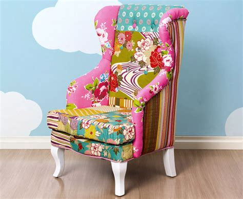 Boho Patchwork Chair - deluxe patchwork boho armchair catchoftheday au