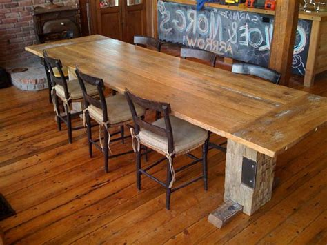 Reclaimed Wood Dining Room Table Marceladick Com Dining Room Tables Made From Reclaimed Wood