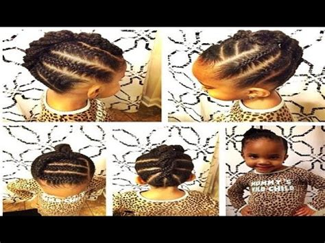 african american braids hairstyles for little girls youtube