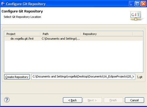 git tutorial create repository how can i add current eclipse project to git with egit