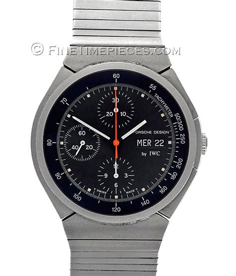 iwc porsche design iwc porsche design titan chronograph ref 3702 02