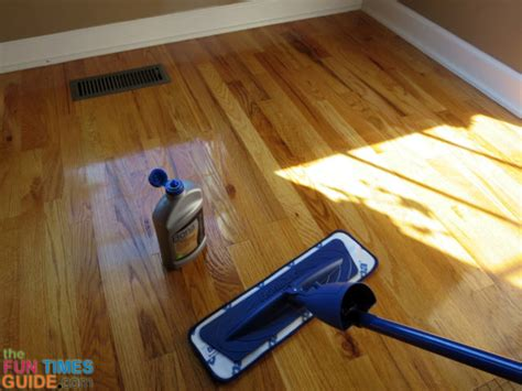 using bona refresher as a floor instead of using