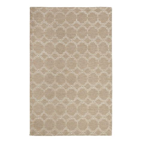 home decorators collection tufted white 8 ft x home decorators collection melanie taupe white 8 ft x 10 ft area rug 1315630400 the home depot