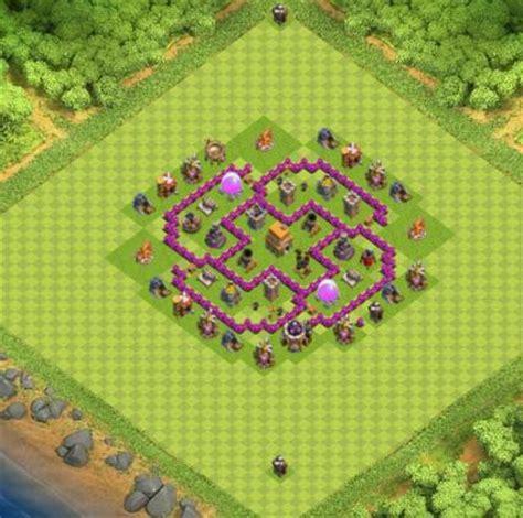 village clash of clans hdv 6 coc solution jeux mobile