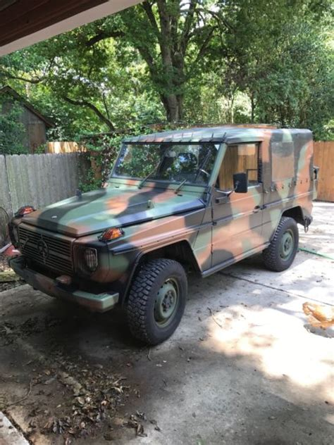 Jeep Mercedes Diesel 1990 Mercedes 250gd Wolf This Is The Real Deal