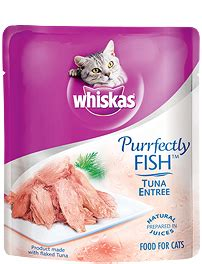 whiskas 174 food for cats purrfectly 174 fish tuna entr 233 e