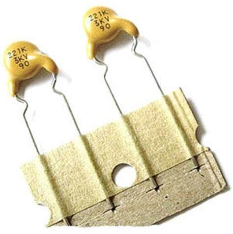 220pf capacitor code 220pf 3000v high voltage ceramic disc capacitor west florida components