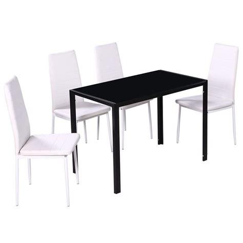 tavolo e sedie bianche set 4 sedie bianche da pranzo 1 tavolo con design