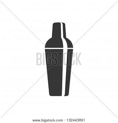 martini shaker silhouette silhouette cocktail shaker icon vector photo bigstock