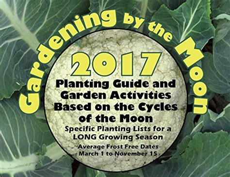 Gardens Of The Moon Pdf by Ebook Gardening By The Moon 2017 Growing Season March