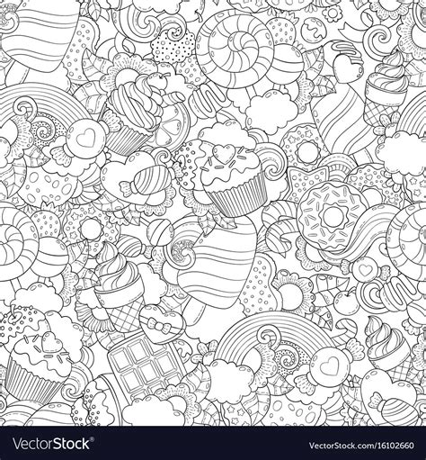 free vector computer doodle doodle abstract background royalty free vector image