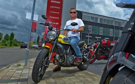 Motorradverleih Esslingen by La Palma Motorrad News Ducati Scrambler Rollt An La