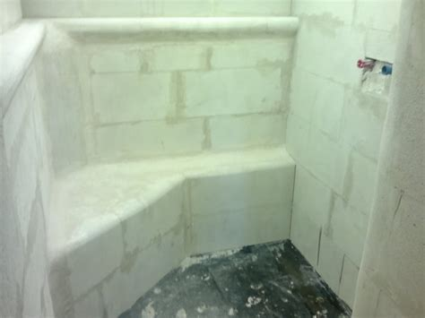 regal ytong steinen bauen dusche neubau