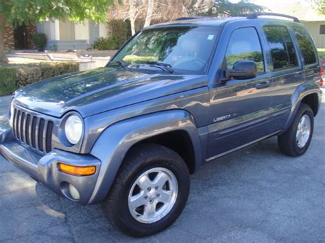 Used Jeep Liberty For Sale Used 2002 Jeep Liberty For Sale By Owner In Hemet Ca 92546