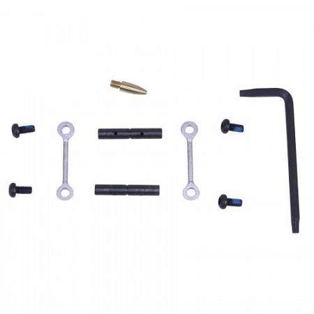 tactical non rotating anti walk pins in nickel
