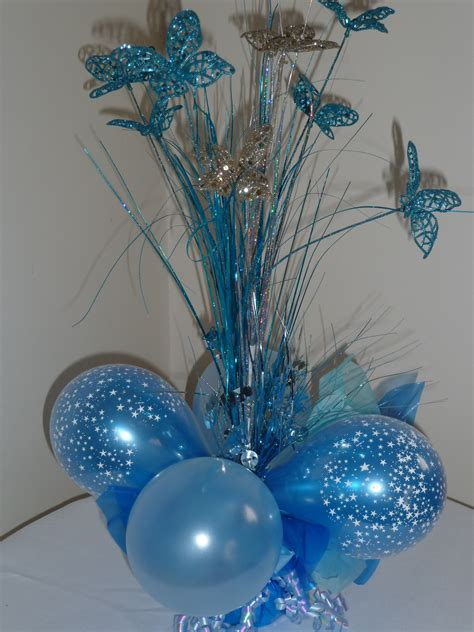 birthday party table centrepieces image inspiration of