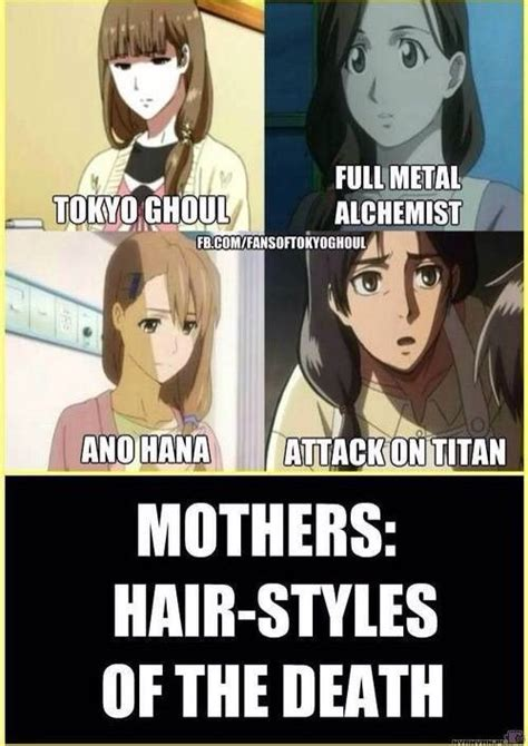 anime hairstyles of death tokyo ghoul meme central anime amino