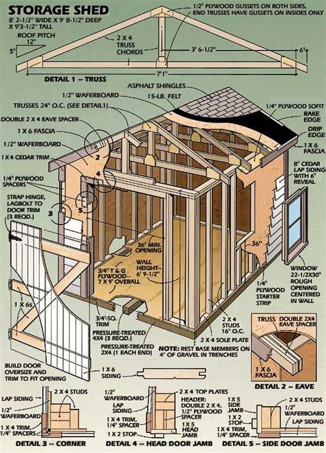 storage shed blueprints   build diy blueprints