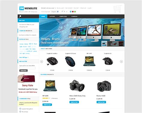 Template Magento Free 25 magento templates for your e commerce business