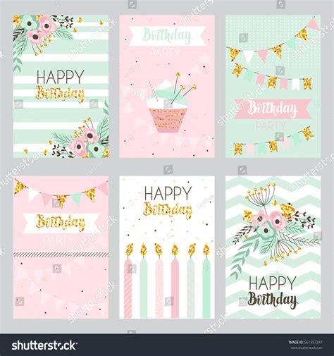 Invitation Letter Happy Birthday happy birthday invitation card design vector image