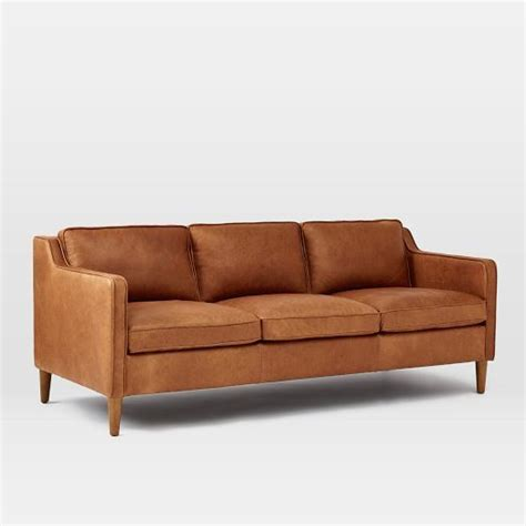 elm leather sofa 25 best ideas about leather sofas on
