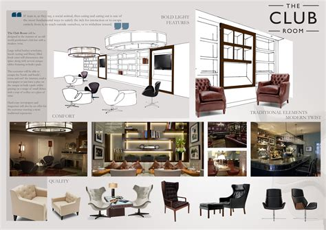 concept interior design concept in theory the club room motif by jess marshall