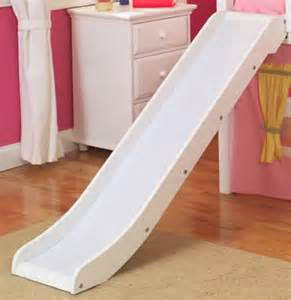 Bunk Bed Slide Attachment Slide For Maxtrix Bed Shown In White