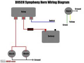 horn relay wiring diagram gallery