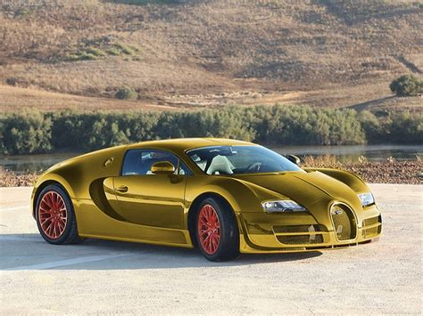 golden super cars bugatti veyron super sport gold edition engine information