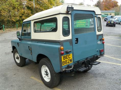 1980 land rover bec 882w 1980 land rover series 3 turbo diesel land
