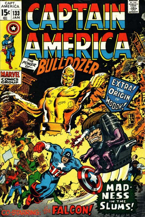 Captain America Comic Book captain america 133