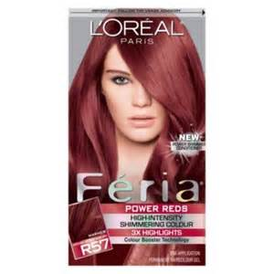 feria hair color l oreal r48 warmer auburn hair color 1 kt box