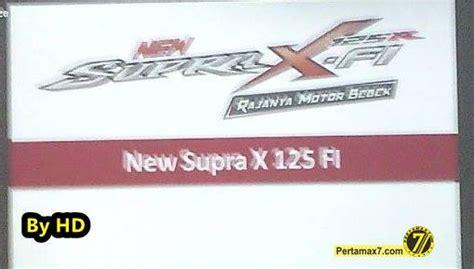 Reflektor Lu Depan Supra X 125 Helm In Komplit Kyz 901 sedikit info mengenai honda new supra x 125 fi bisa ngecharge hp gantungan barang lu rem