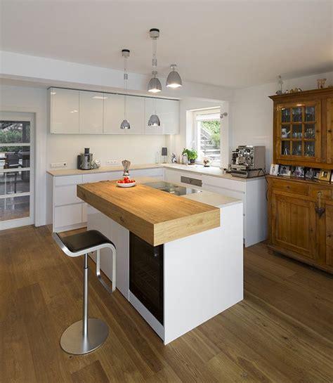küchen mit theke k 252 cheninsel selber dekor